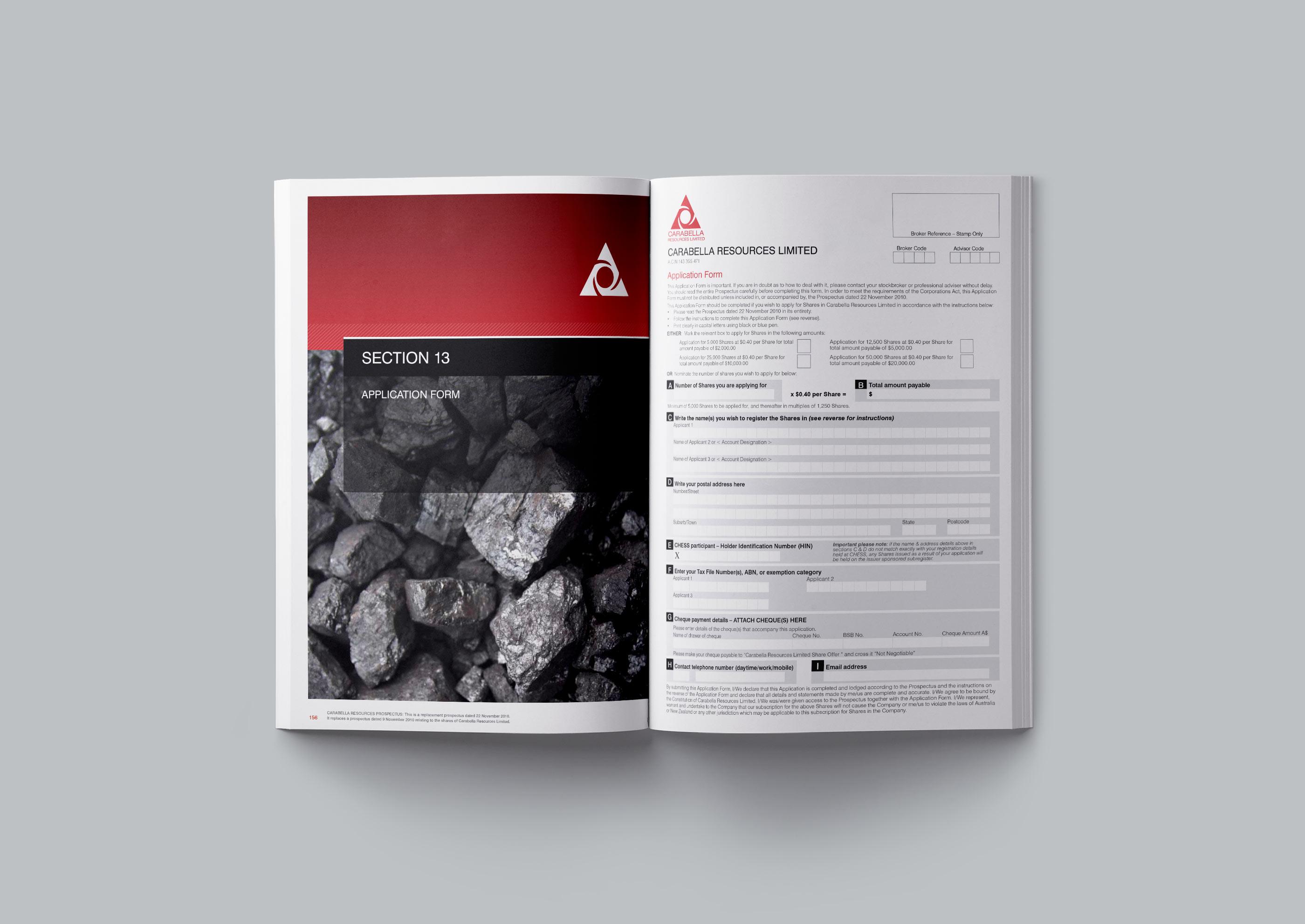 Carabella Resources prospectus